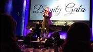 Деми Ловато - Warrior (на живо за първи път)