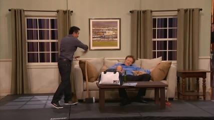 Стивън Хо показва на Конан как да направиш оръжие от бебе - Conan по Тbs
