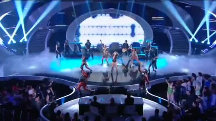 Miley Cyrus - Cant Be Tamed Live Britains Got Talent