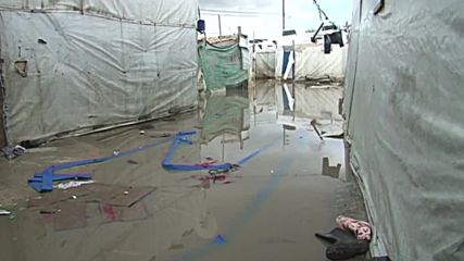 Lebanon: Refugee camp flooded as storm hits Beqaa Valley