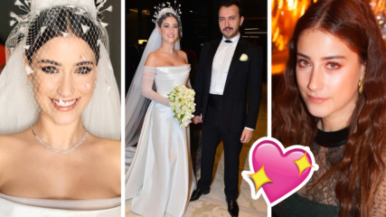 Любимка от турските сериали с бляскава сватба, вижте снимките!