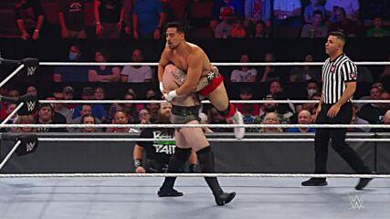 Erik vs. Angel Garza: Raw, Sept. 27, 2021