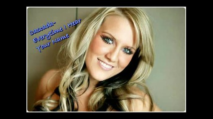 Cascada - Everytime I Hear Your Name [ With lyric]