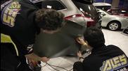 """Да преобразиш колата си! Пълно """"обличане"""" на автомобил в карбоново фолио!"""