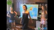 Така става като се правиш на танцьорка (смях)