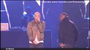 Велик !! Eminem - Berzerk & Rap God (live ema 2013)