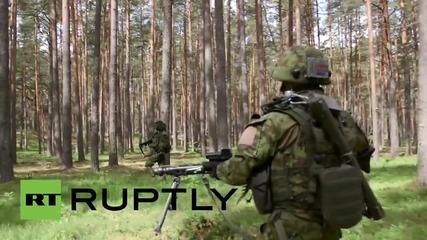 Latvia: NATO units practice combat as Saber Strike 2015 drills continue