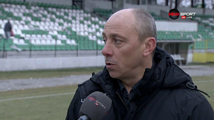 Илиан Илиев: Тактически стояхме добре, момчетата се раздадоха за успеха