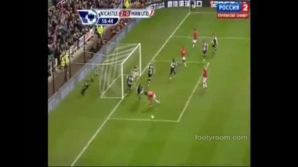 Нюкасъл 3 - 0 Манчестър Юнайтед - Най-важното от мача+головете