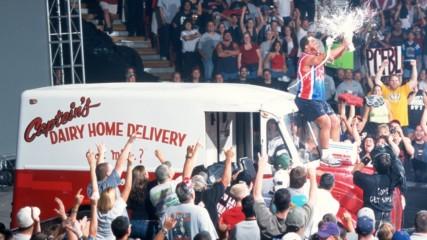 Kurt Angle uses milk truck to soak The Alliance