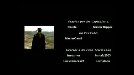 El Zorro La Espada Y La Rosa - Зад Сцената (муз.клипче)
