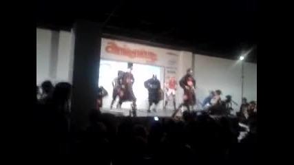 Aniventure- 2012- Naruto style- Oppa Gangnam Style