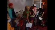 Рбд репетират [миа и Мигел се опитват да съберът Диего и Роберта] Непокорните