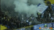 Агитката на Левски на мача с Локо *22.03.09