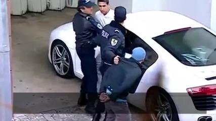 Крилото на Манчестър Юнайтед Angel Di Maria арестувано в готина шега