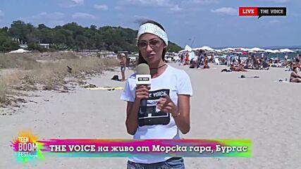 THE VOICE LIVE от TEEN BOOM FEST 2021: Ева и екипът на The Voice са готови за ден 2 (22/08/2021) [1]