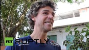 Brazil: Tennis legend 'Guga' spearheads Rio favela's colourful facelift