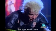Billy Idol - To Be A Lover Official video Lyrics