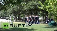 САЩ: Лейтенант от втората всетовна бе погребан 70 години след смъртта си