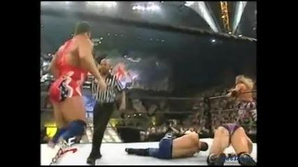 Edge & Val Venis vs. Kurt Angle & Lance Storm - Wwf Smackdown 02.05.2002