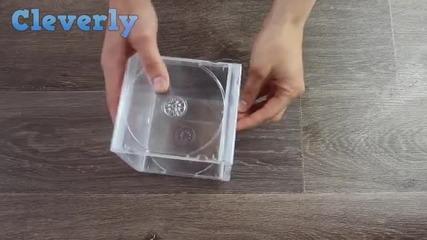 Имаш стара опаковка от Cd диск? Нямаш си напредстава какво можеш да направиш с нея!