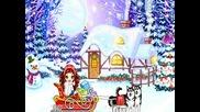 Рой снежинки луди - Детска песничка