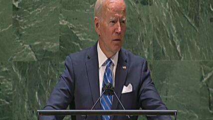 UN: Biden warns world faces 'decisive decade' in UNGA speech