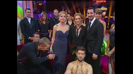 Dancing Stars – Хипнотизиращият фокстрот на Албена Денкова и Калоян (08.04.2014 г.)