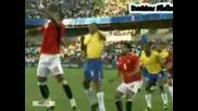 Бразилия - Египет 4:3 Купата на Конфедерациите