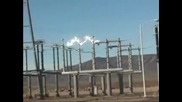 Чудо!каква волтова дъга на 500 kv или 500 000 V ток