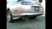 Veilside Teardrop Titanium Exhaust Supra