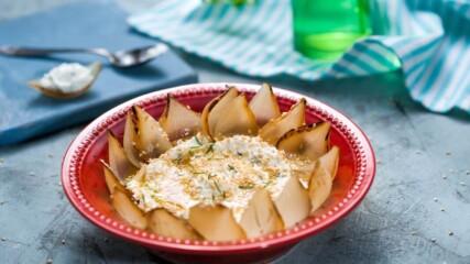 Дип от овче сирене с печен лук и сусам | Бон Апети | 24Kitchen Bulgaria.