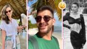 Сашо Кадиев с нова жена до себе си в Доминикана? Ето я красавицата, за която се говори