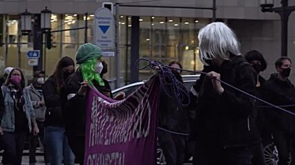 Germany: Hundreds of women join pro-choice queer feminist demo in Berlin