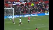 Бербатов отново бележи два гола в Англия (26.12.2010) гд.