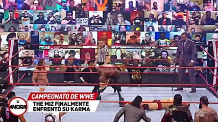 REVIVE Raw en 8 (MINUTOS): WWE Ahora, Mar 1, 2021