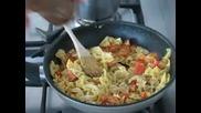Сьомга паста къри - рецепта