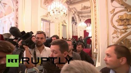 "France: ""Normandy Four"" talks kick off at Elysee Palace"