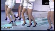 Snsd - Etude + Genie [sbs Inkigayo 090628]