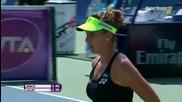 Simona Halep vs Belinda Bencic Final Toronto 2015 Set-1