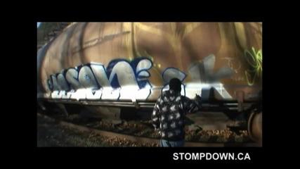 Graffiti #155 - Lesen!!! - (music From Myspace.com/brasstackz)