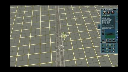 Как да си направим кръстовидна стрелка в Trainz