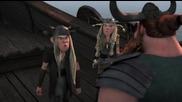 Dragons Riders of Berk епизод 6 бг аудио - Алвин и изгнанниците