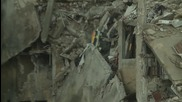 Syria: Homs lies in ruins after years of urban warfare
