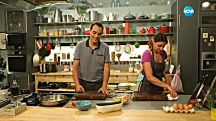 Опушена салата с царевица - Бон апети (14.07.2016)