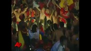 Raw Video - Fans Celebrate Spain s Wcup Victory