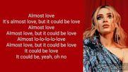 Sabrina Carpenter - Almost Love Lyrics