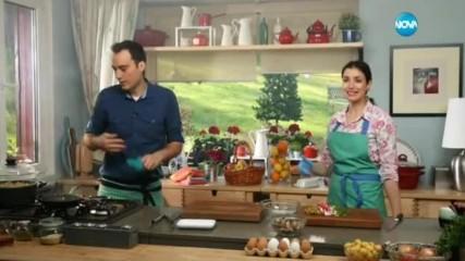 Салата от пресни картофи - Бон апети (25.04.2017)