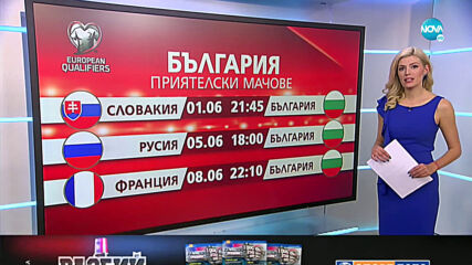 БФС обяви официалните контроли на България