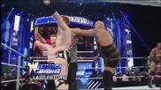 Sheamus, Randy Orton, Big Show brawl with The Shield